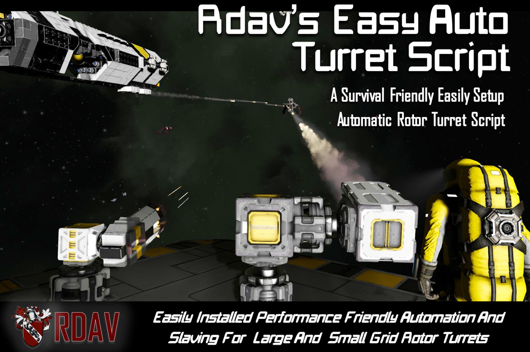 Steam Workshop :: Rdavs Easy Auto Turret Script
