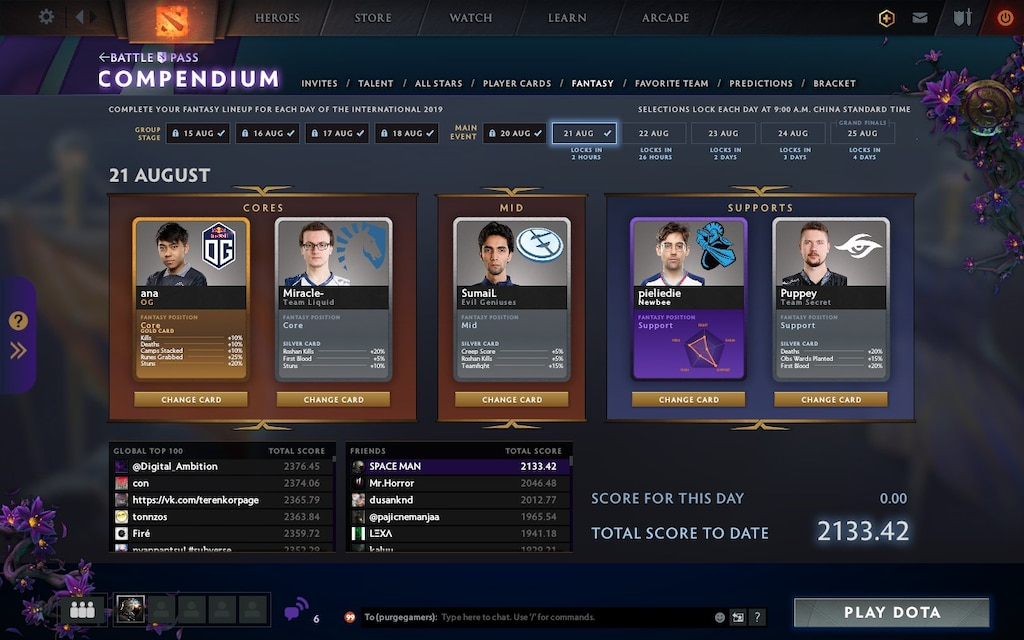 Steam Community :: Screenshot :: Updated predictions for