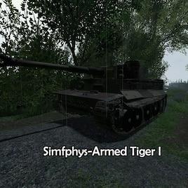 Steam Workshop :: (Simfphys-Armed) Tiger I