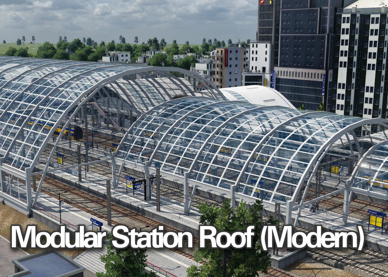 Modular Station Roof (Modern)