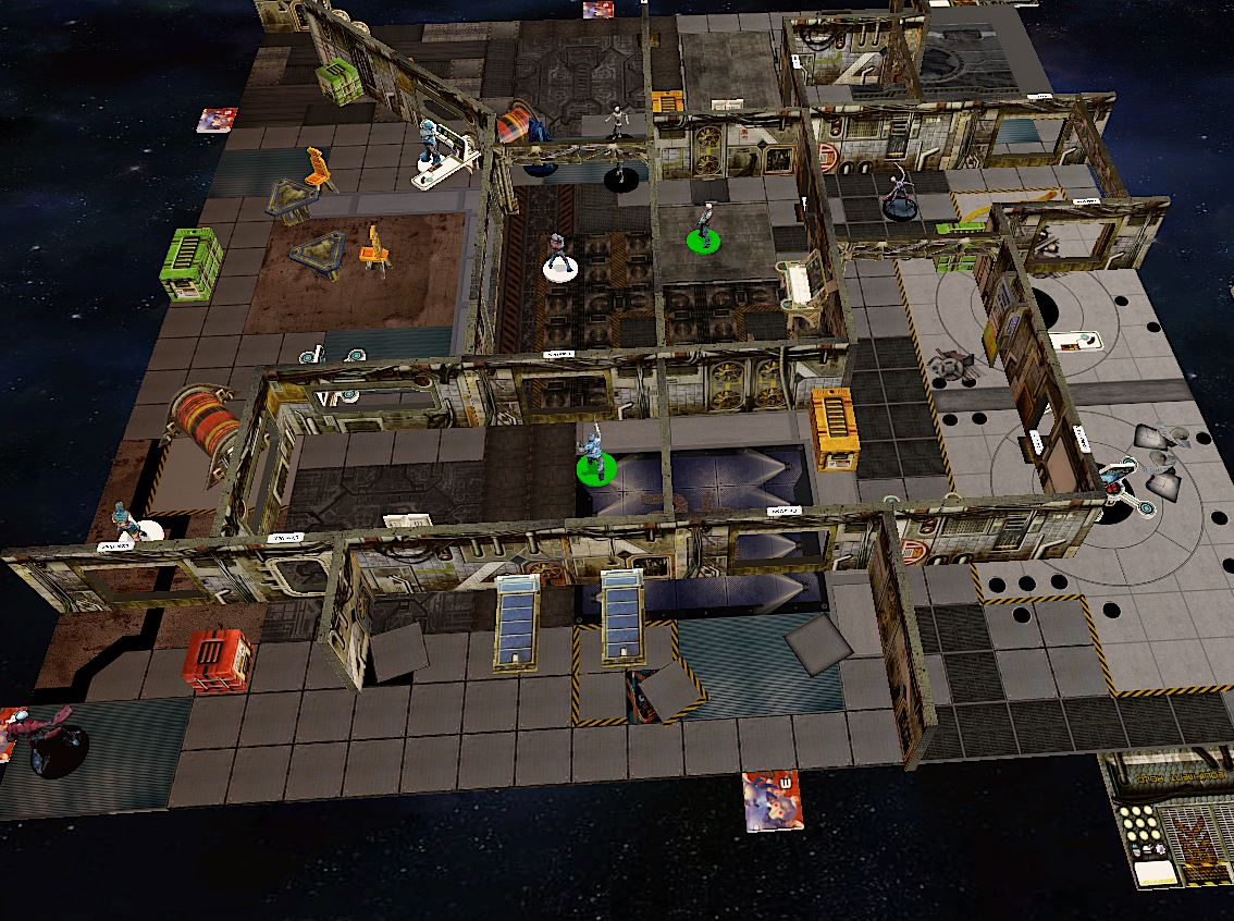 Tabletop Simulator in action