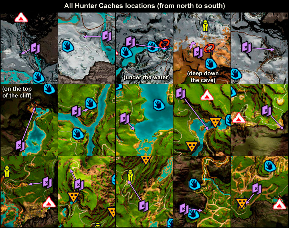 far cry primal map locations