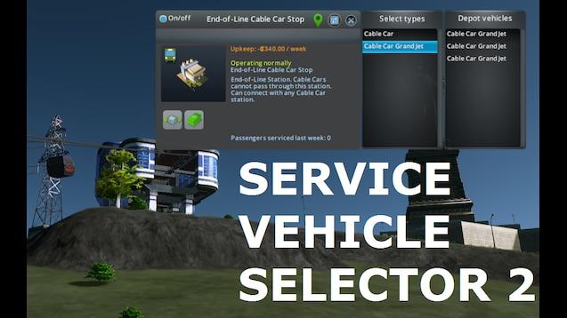 Steam Workshop :: Service Vehicle Selector 2