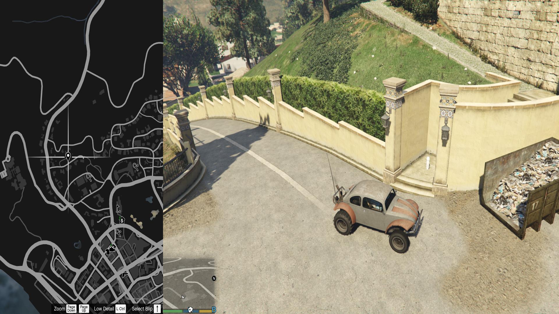 50de0646fce81 9. Pillbox Hill, povyše strelnice v obchode so zbraňami. Vezmite si  vrtuľník, je na vrchole vysokej budovy Maze Bank. Traktát je rovno na  pristávacej ploche ...