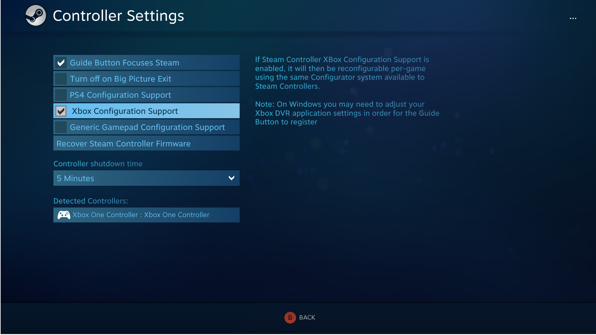 Steam Community :: Guide :: Xbox One Controller Setup