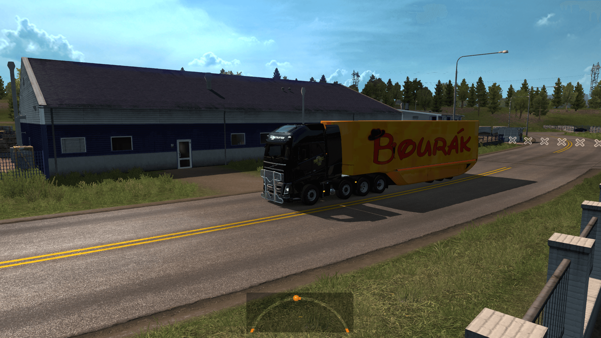 Bourakkkk MB Aerodynamic Trailer skin