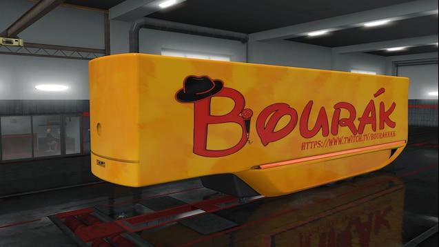 Bourakkkk MB Aerodynamic Trailer skin