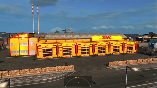 DHL Garage skin