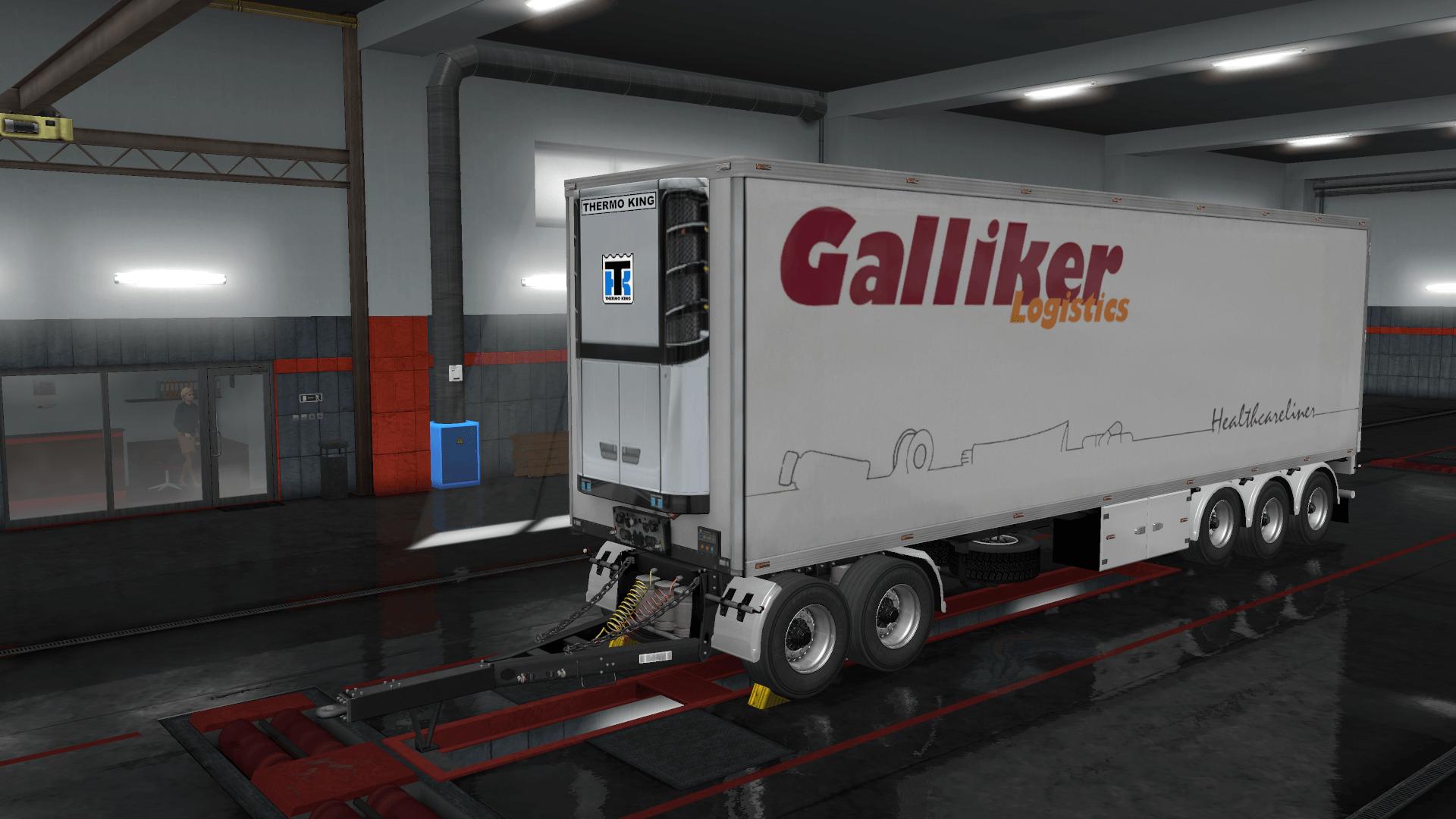 Galliker Logistics Devil BDF Tandem