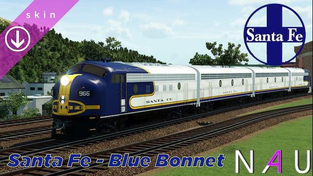 Steam Workshop Santa Fe Blue Bonnet Emd F7