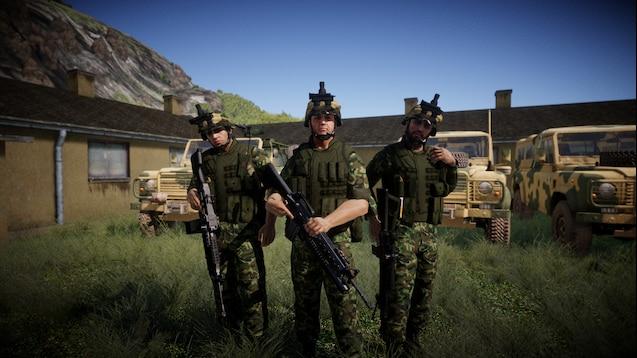 Steam Workshop::Arma Commander: Sahrani Military vs. USMC