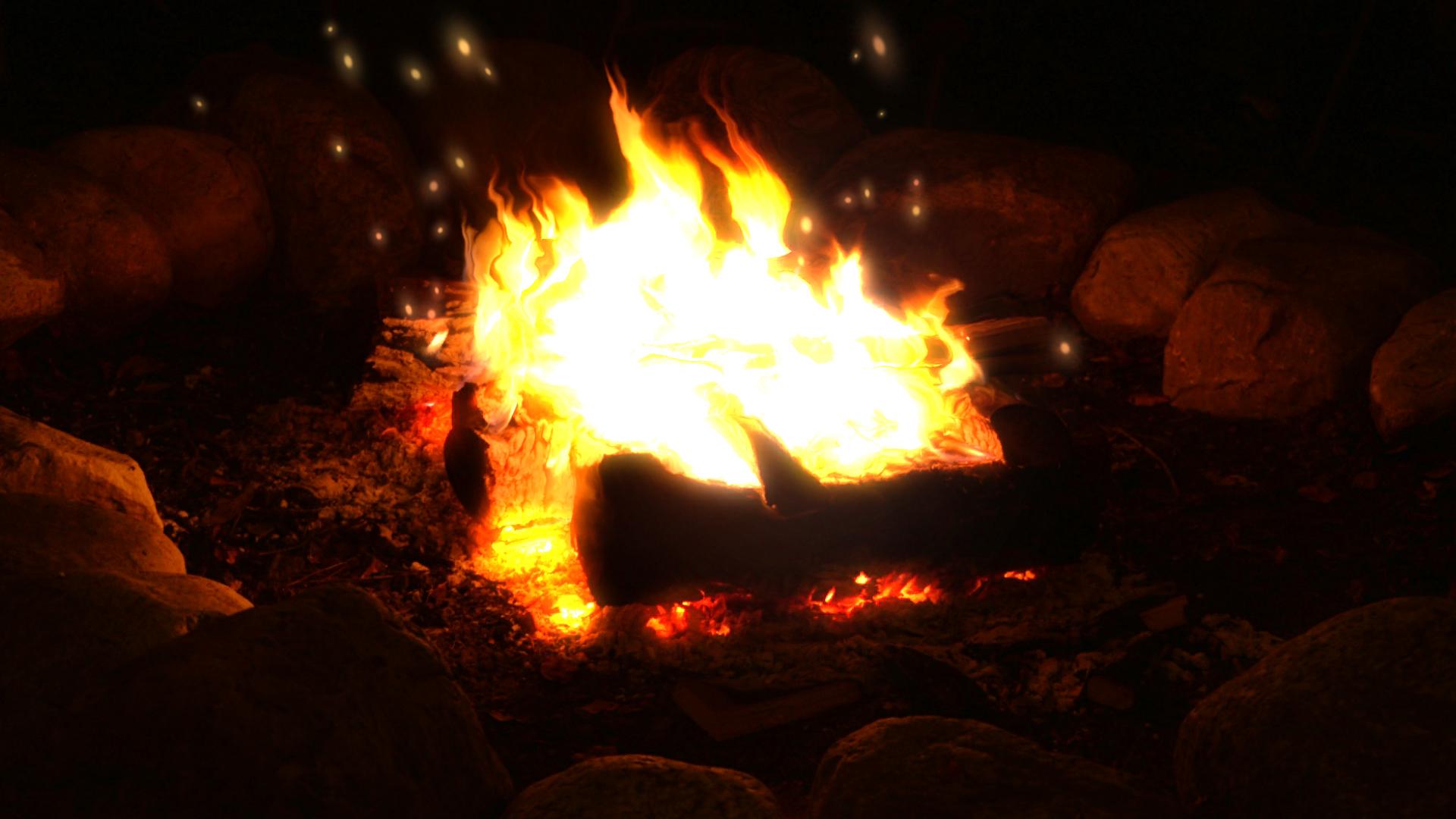 Campfire Wallpaper Engine