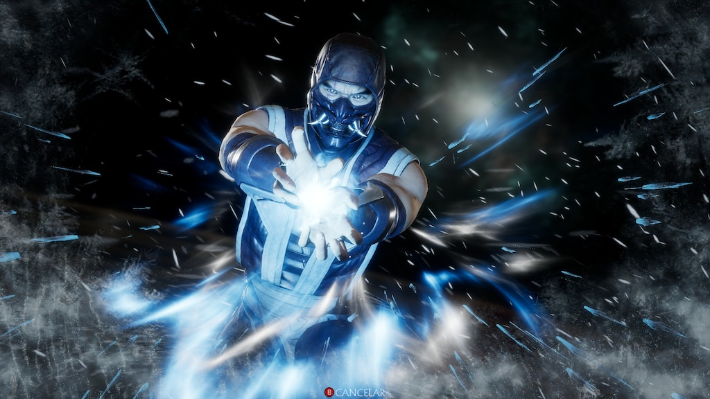 mortal kombat 11 wallpaper sub zero