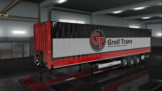 Groll Trans Krone Trailer Skin Pack