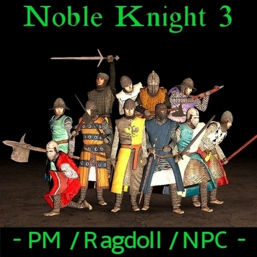 Steam Workshop::Noble Knight 3 [PM, Ragdoll And NPC]