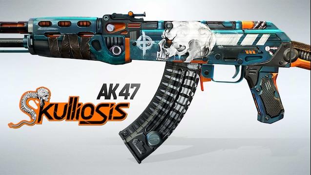 Gambar hasil untuk AK47 Skulliosis csgo