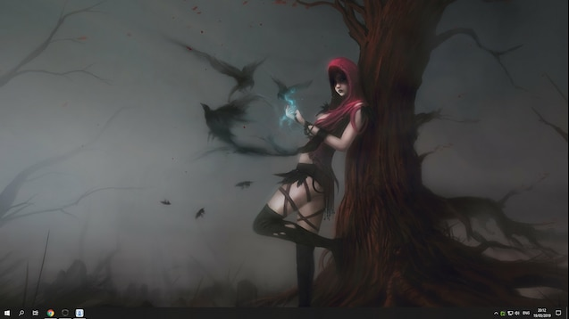 Steam Workshop Morrigan Dragon Age Animated Wallpaper