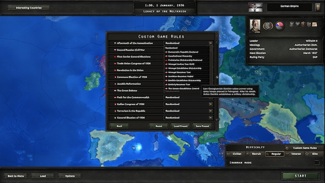 Steam Workshop :: [OBSOLETE, INCLUDED IN THE MOD ITSELF] Kaiserreich