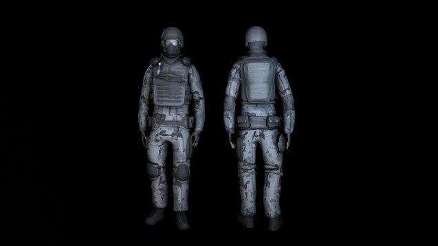 Steam Workshop :: SCP: Unity Guard [Playermodel]