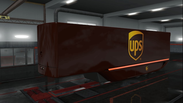UPS Skin for MB Aerodynamic Trailer