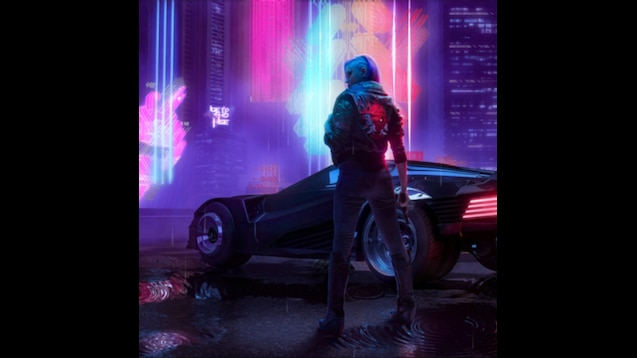 Steam Workshop :: Cyberpunk 2077 Female V (Live wallpaper Master)