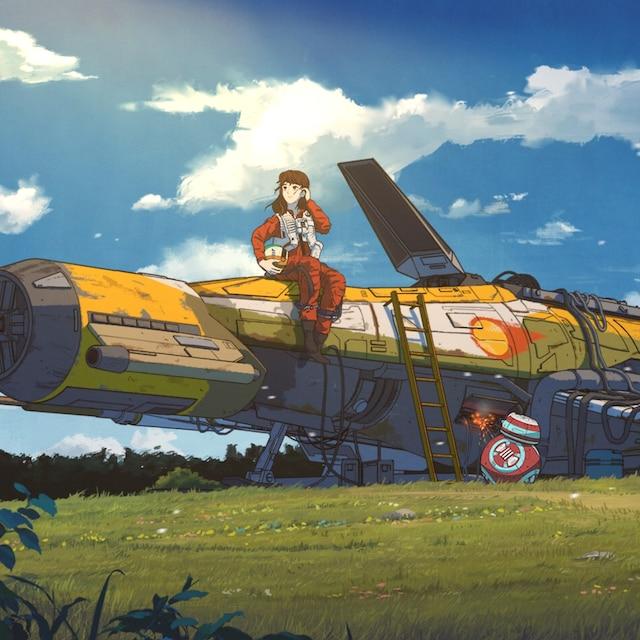 Studio Ghibli Star Wars Wallpaper Engine Workshop
