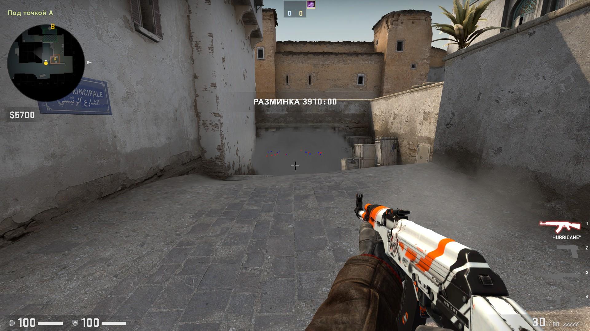 CS:GO защита и атака на карте Dust2