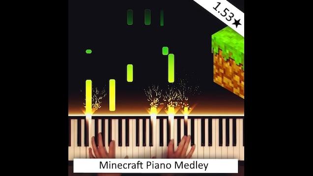 Steam Workshop :: Minecraft Piano Medley