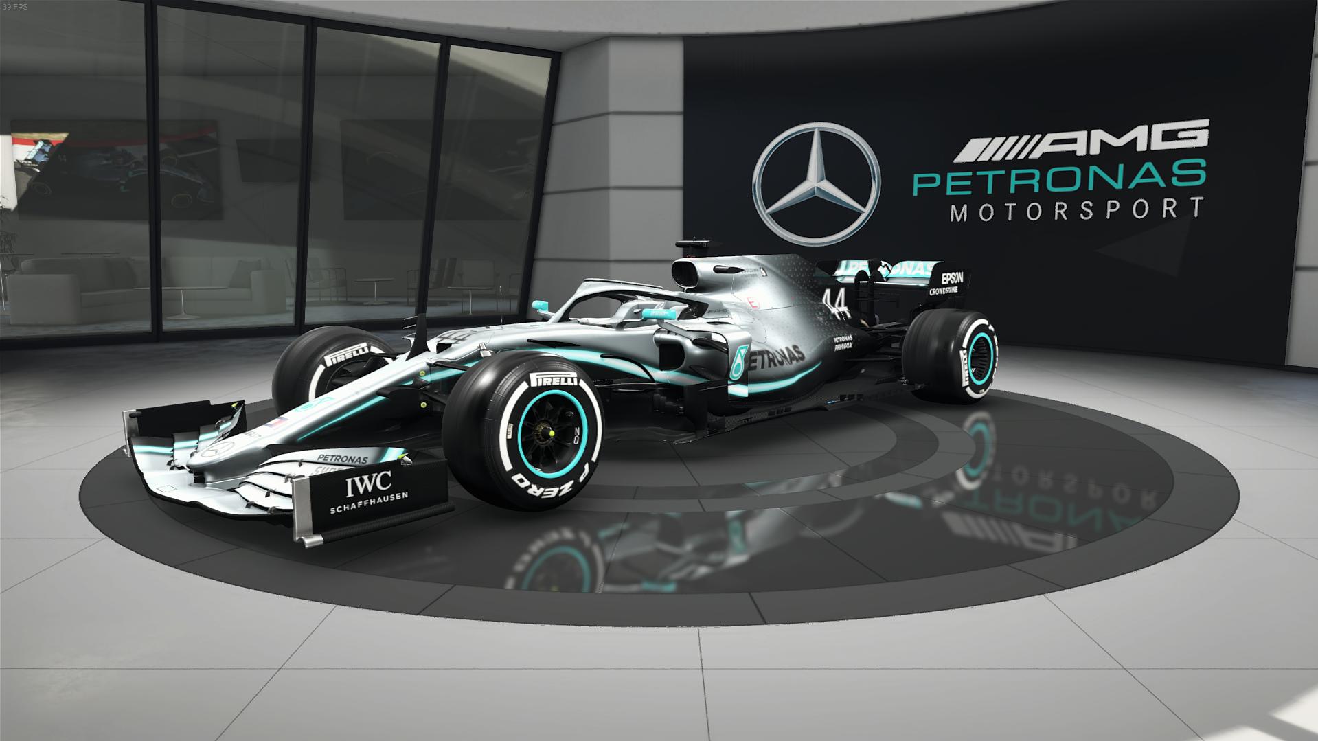 Steam Workshop F1 2019 Mercedes Dry Setups