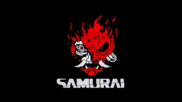 Steam Workshop 1440 Digital Style Samurai Logo Cyberpunk 2077