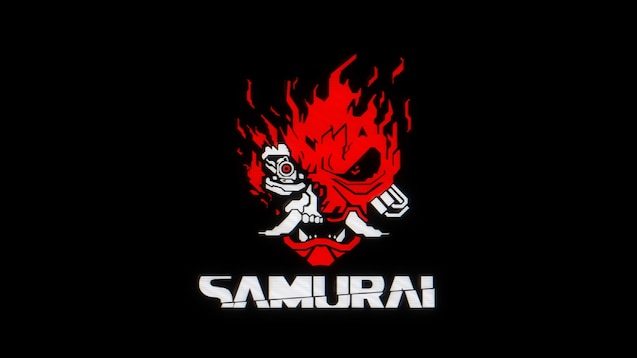 Steam Workshop::4K Digital-style Samurai logo ...