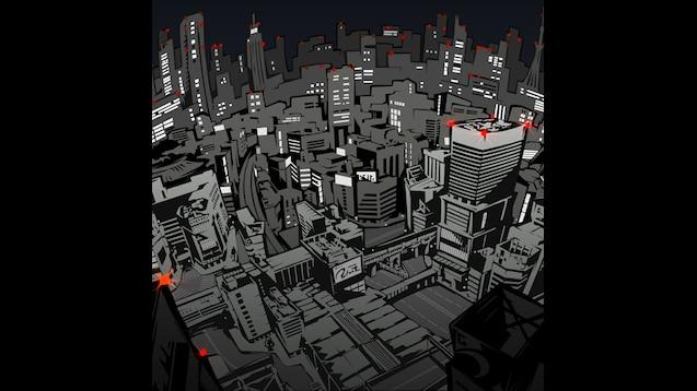 Steam Workshop Persona 5 Tokyo Night Version W Blinking Lights