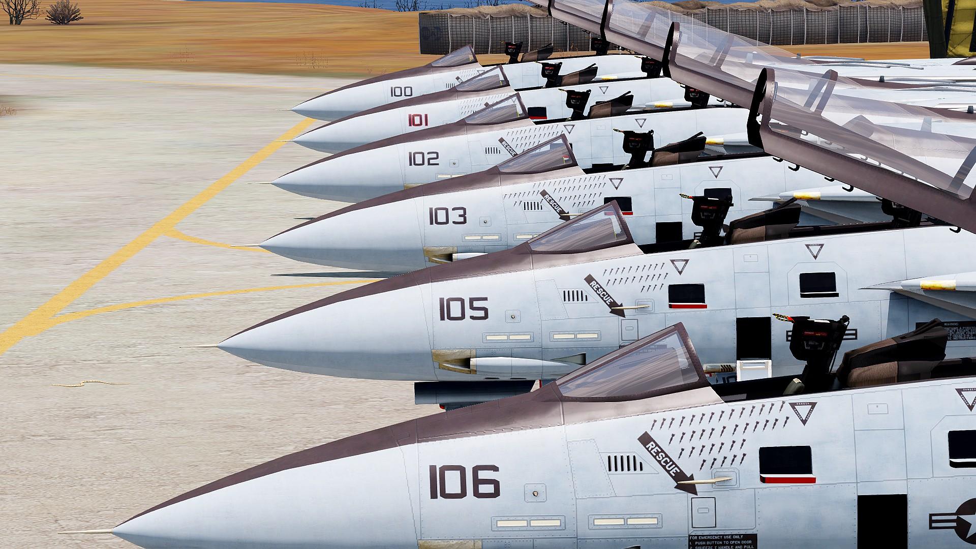 F-14 Tomcat Series Standalone - ARMA 3 - ADDONS & MODS