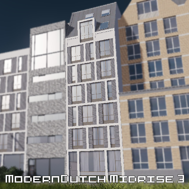 Modern Dutch midrise 3