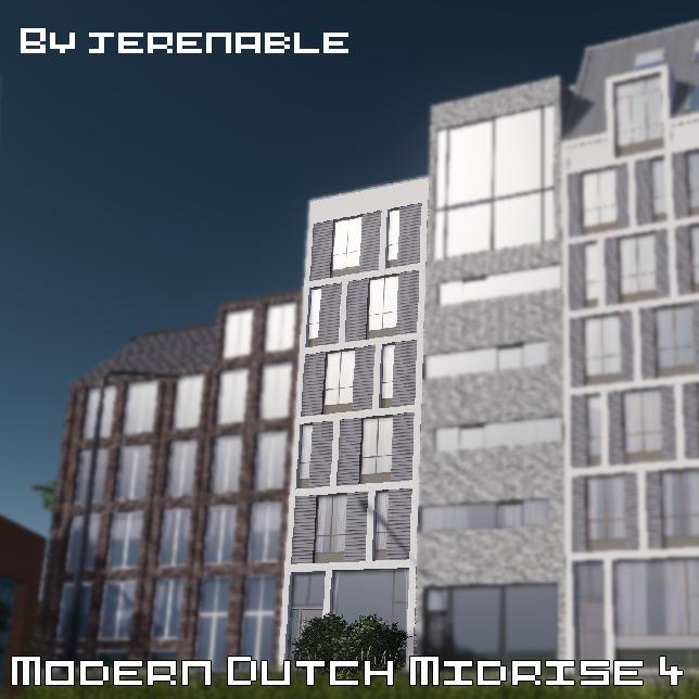 Modern Dutch midrise 4