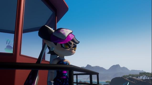 Steam Workshop :: Callie Player Model [Splatoon]