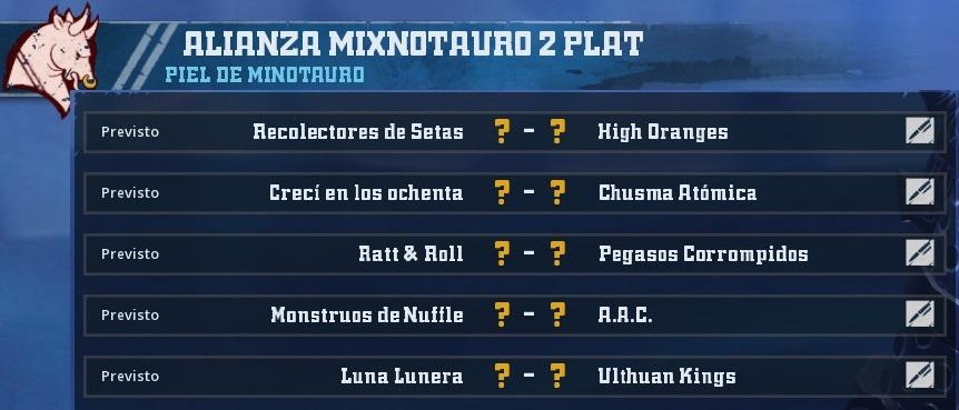 Liga Alianza Mixnotauro 2 - División Cuerno de Plata /Jornada 4 - hasta el domingo 16 de junio 1D4720A49D119B7E34E5A1B00148DA76F9F619CD
