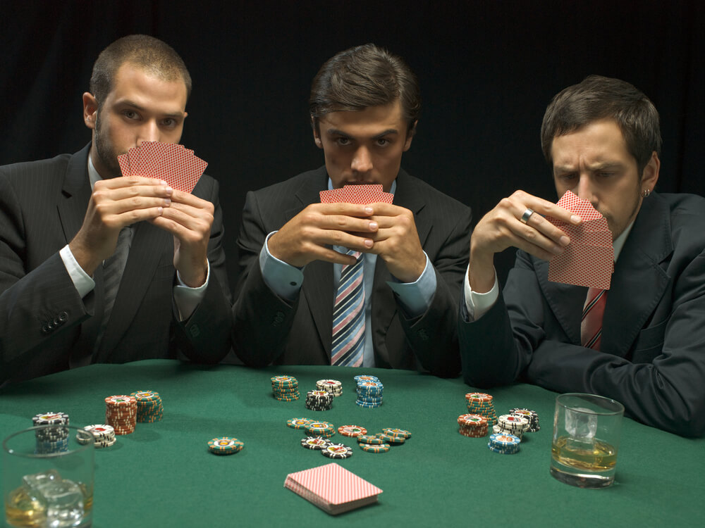Юбилеем, прикольные картинки игра в карты