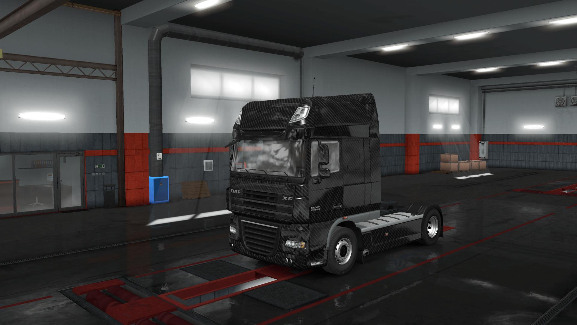 Truck Carbon Skin