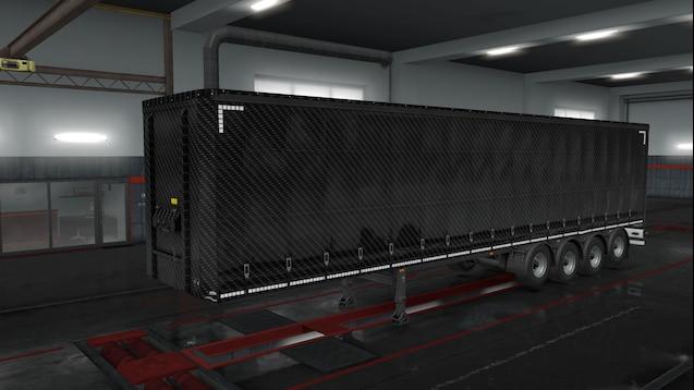 Carbon standart Trailer Skin Pack