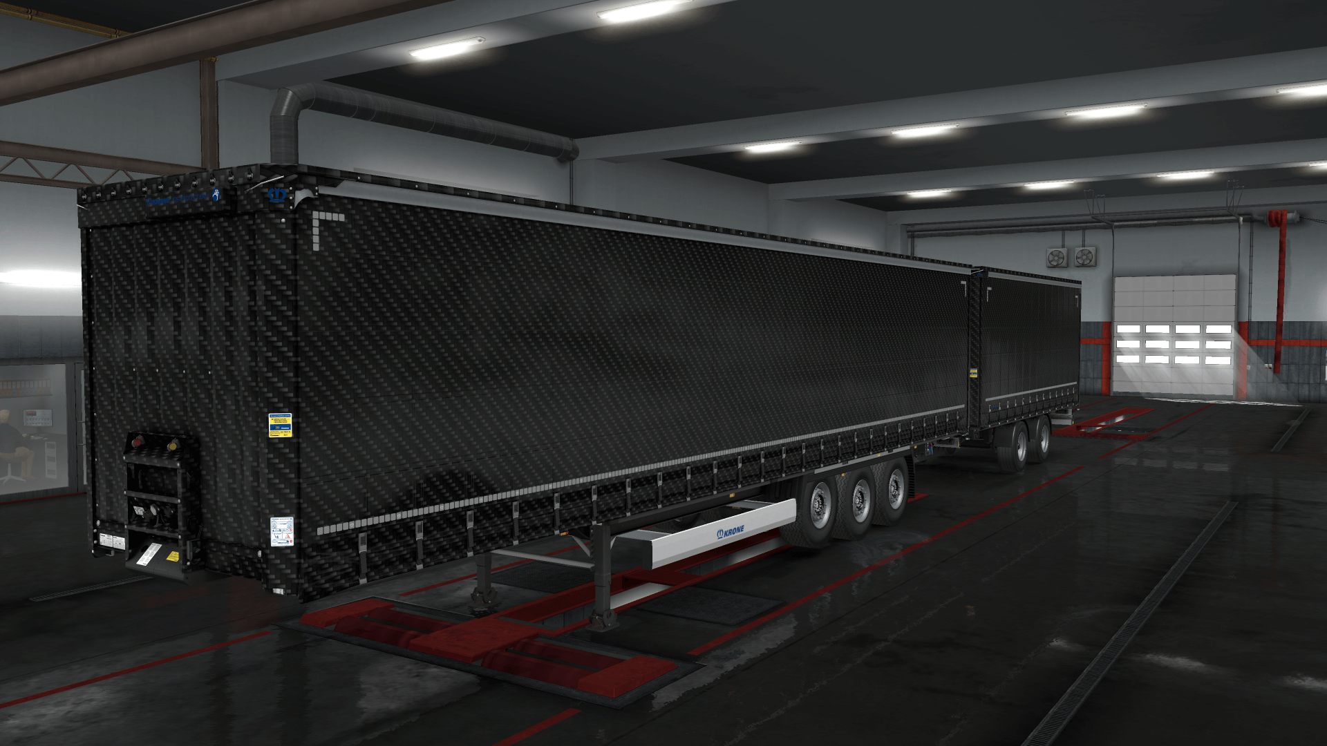 Carbon Krone Trailer Skin Pack