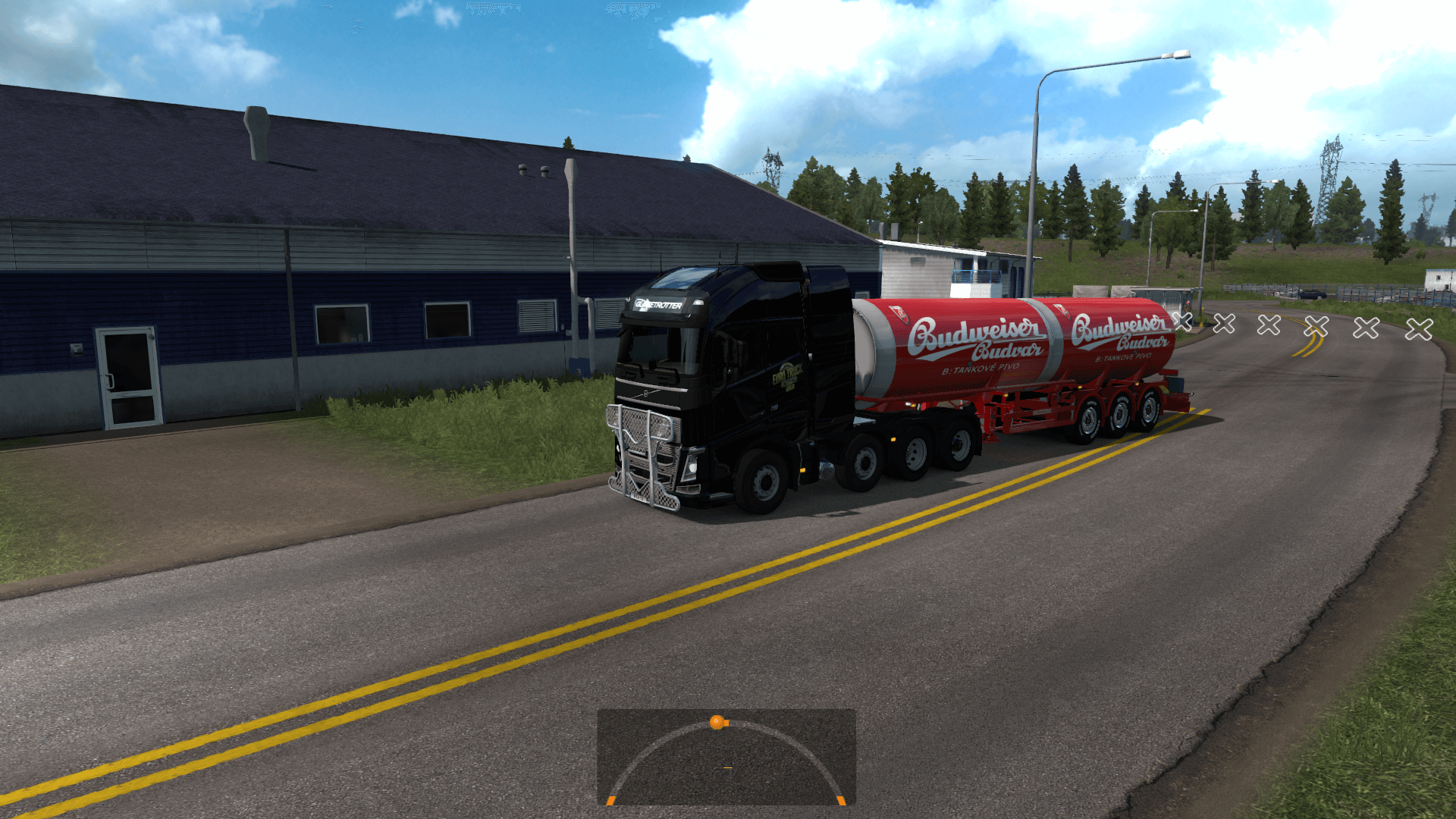 Budvar Can Tanker Trailer skin