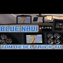 Blue Background for Navi