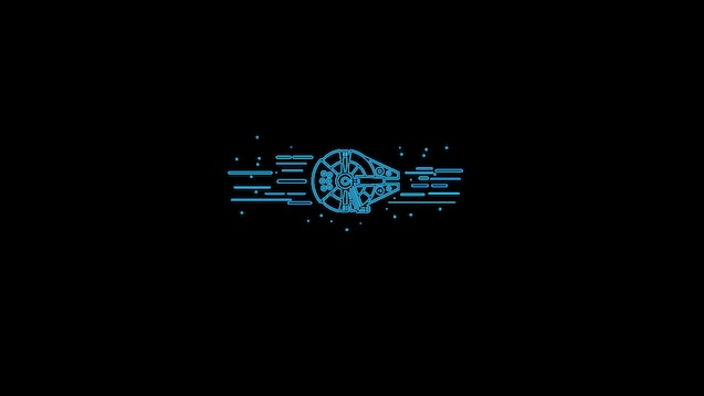 Steam Workshop Star Wars Minimalist Falcon Animated