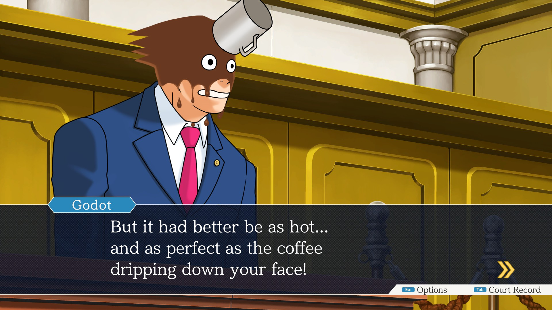 Steam Community Screenshot You Ve Got Prosecuted By Godot