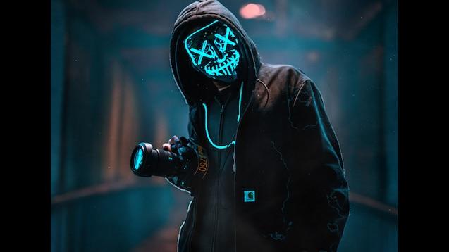 Steam Workshop Purge Led Mask Photograper 4k