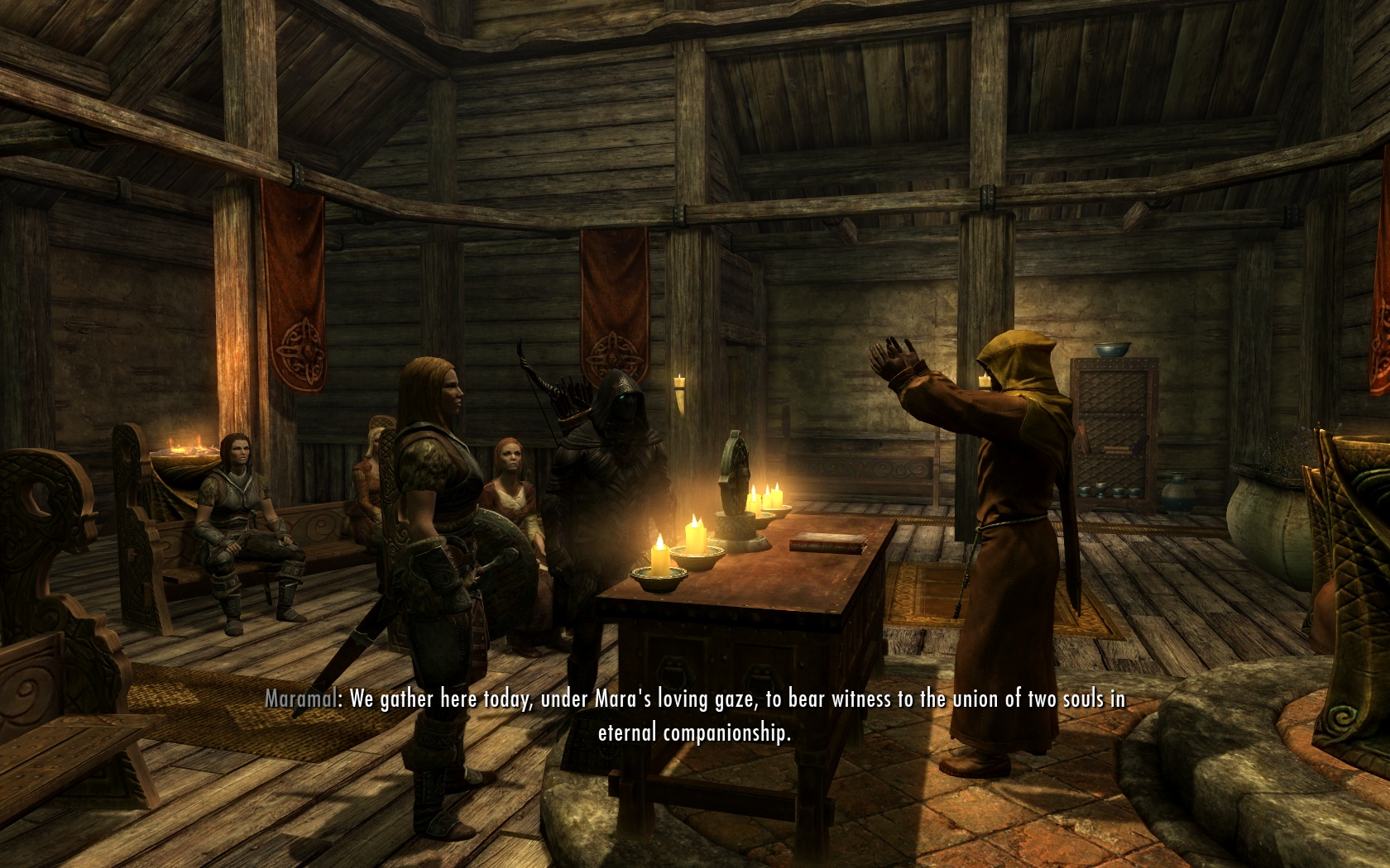 Skyrim: how to get married and achieve social status 26
