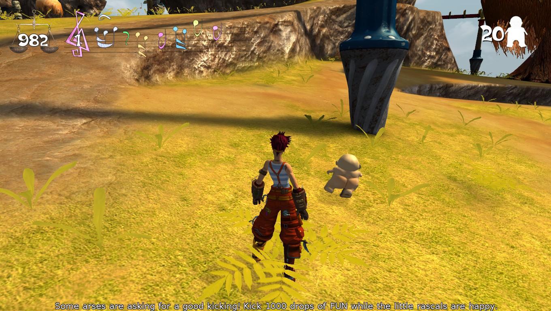 Midget kicking screenshot with
