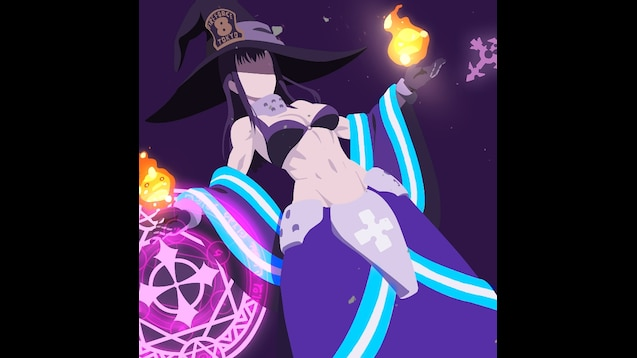 Steam Workshop Maki Oze Witch Fire Force