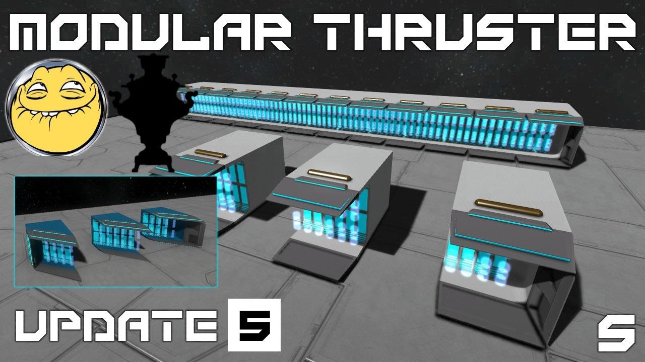 modular ion thrusters